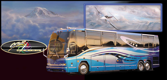 From 1983 to 2002, the Stahr Design shop and design studio was co-located with Marathon Coach, the world leader in luxury motor coach conversions.